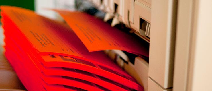 Kopieren en printen op kleinformaat bij TPS Roden